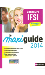 Concours AS, AP & IFSI 2013-2014